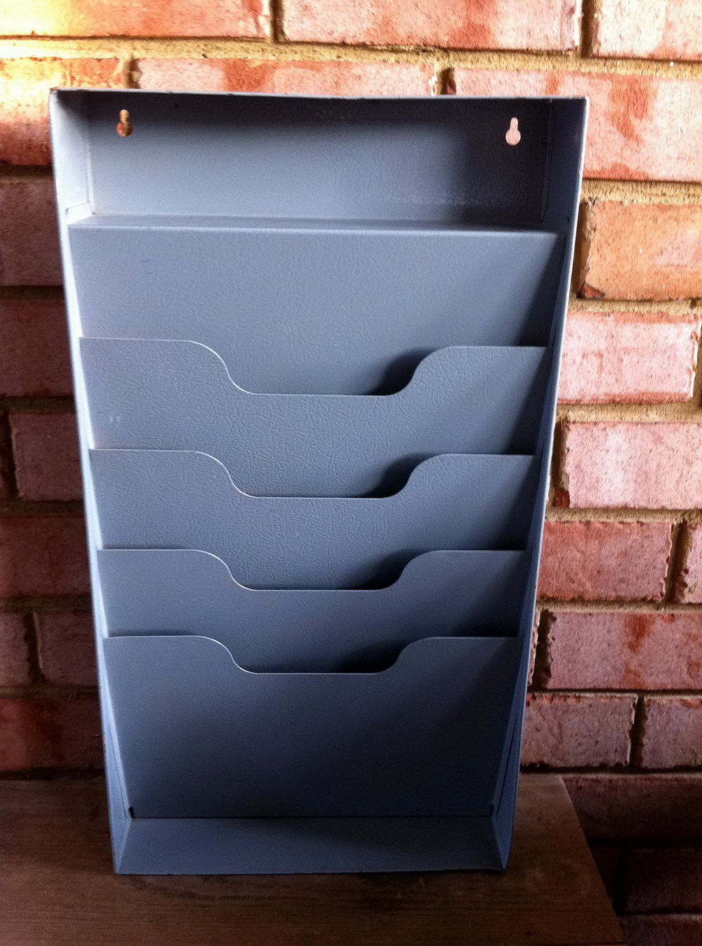 Best ideas about DIY Hanging File Organizer . Save or Pin Hanging Pocket File Organizer Now.