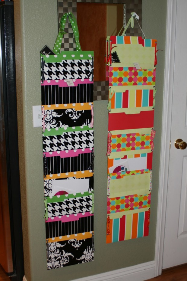 Best ideas about DIY Hanging File Organizer . Save or Pin 18 Great DIY fice Organization and Storage Ideas Style Now.