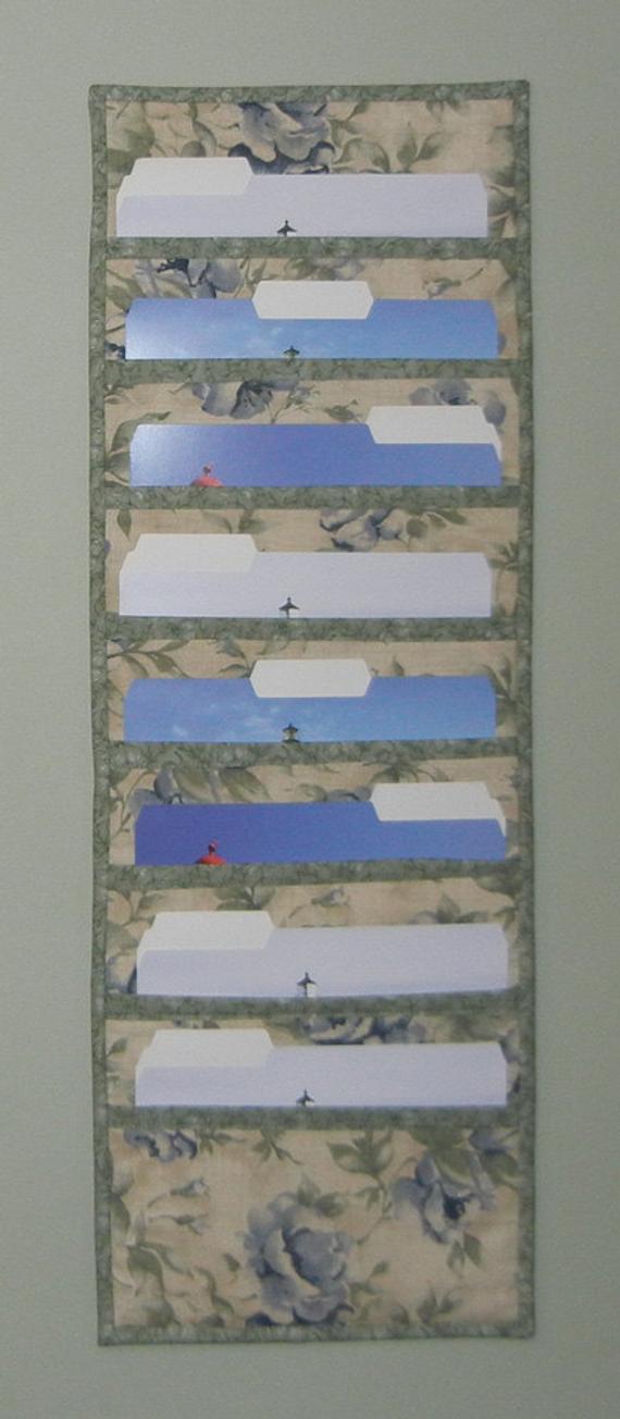 Best ideas about DIY Hanging File Organizer . Save or Pin PDF Pattern for File Folder Pocket Organizer File Pocket Now.