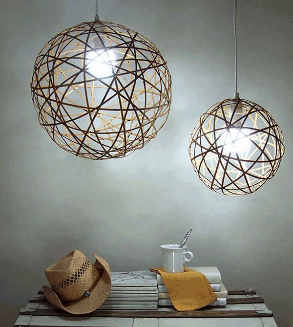 Best ideas about DIY Hanging Lamp . Save or Pin 50 Coolest DIY Pendant Lights Now.