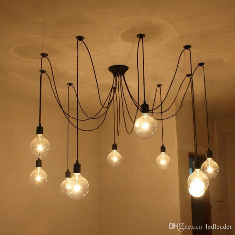 Best ideas about DIY Hanging Lamp . Save or Pin 2019 L2 DIY Pendant Lights Modern Nordic Retro Hanging Now.