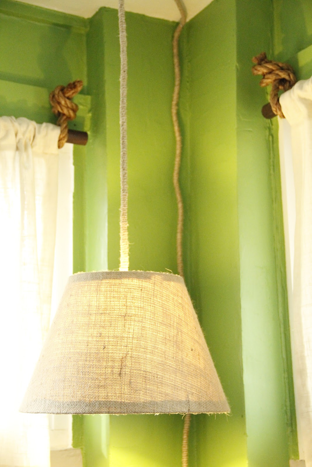 Best ideas about DIY Hanging Lamp . Save or Pin Breakfast at the Zemke s Hanging Pendant Lamp DIY Now.