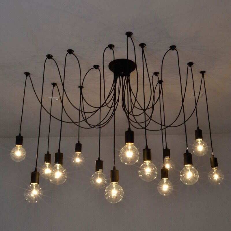 Best ideas about DIY Hanging Lamp . Save or Pin Vintage Edison Industrial Style Chandelier Pendant Lights Now.