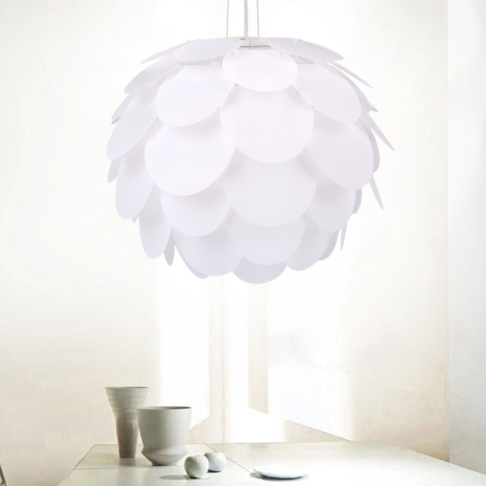 Best ideas about DIY Hanging Lamp . Save or Pin New DIY Pinecone Chandelier Lampshade Pendant Lamp Hanging Now.