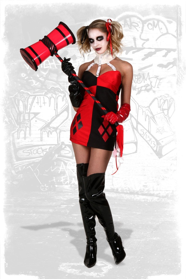 The Best Diy Harley Quinn Costume Best Collections Ever