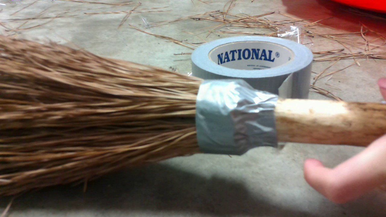 Best ideas about DIY Harry Potter Broom . Save or Pin Diy Simple Harry Potter Quittage Broom Tutorial Now.