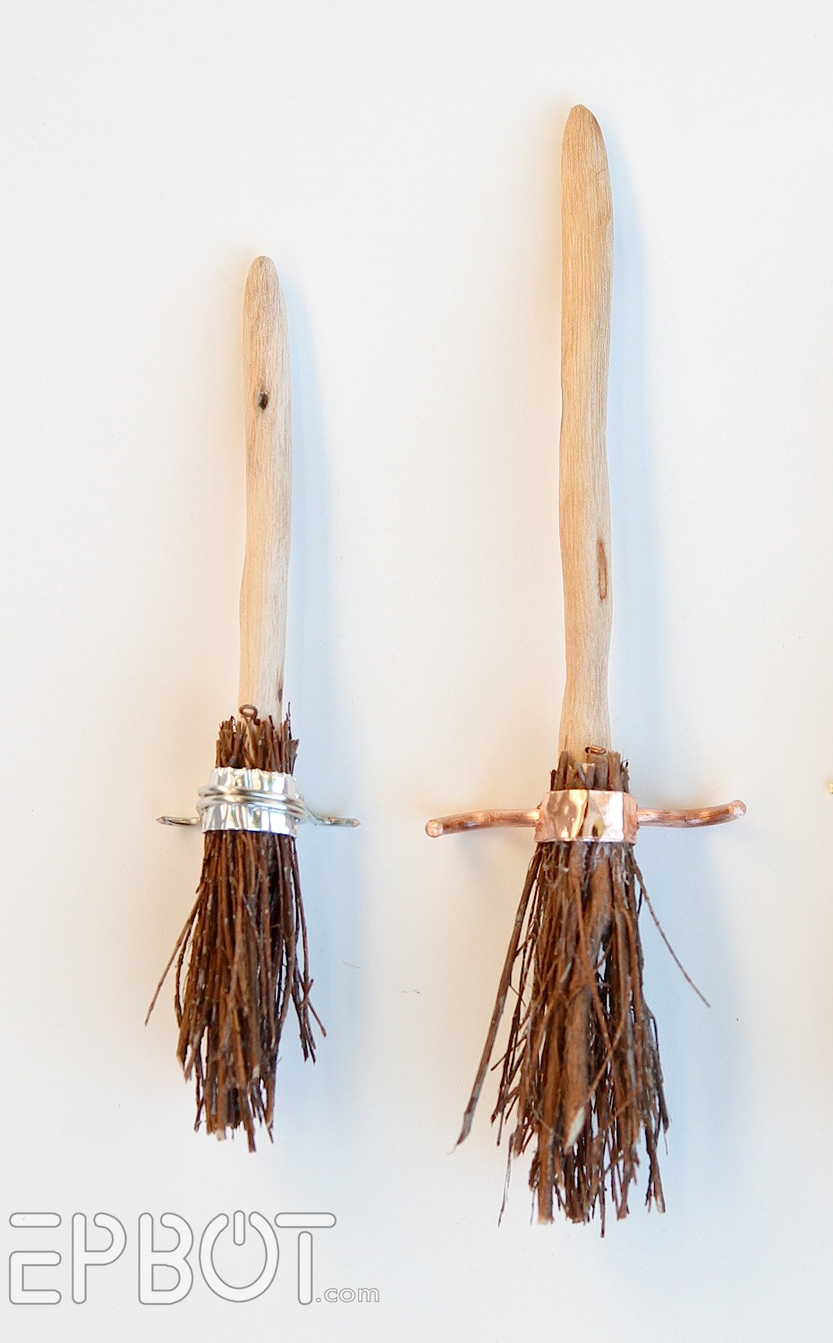 Best ideas about DIY Harry Potter Broom . Save or Pin EPBOT DIY Harry Potter Quidditch Broom Ornaments Now.