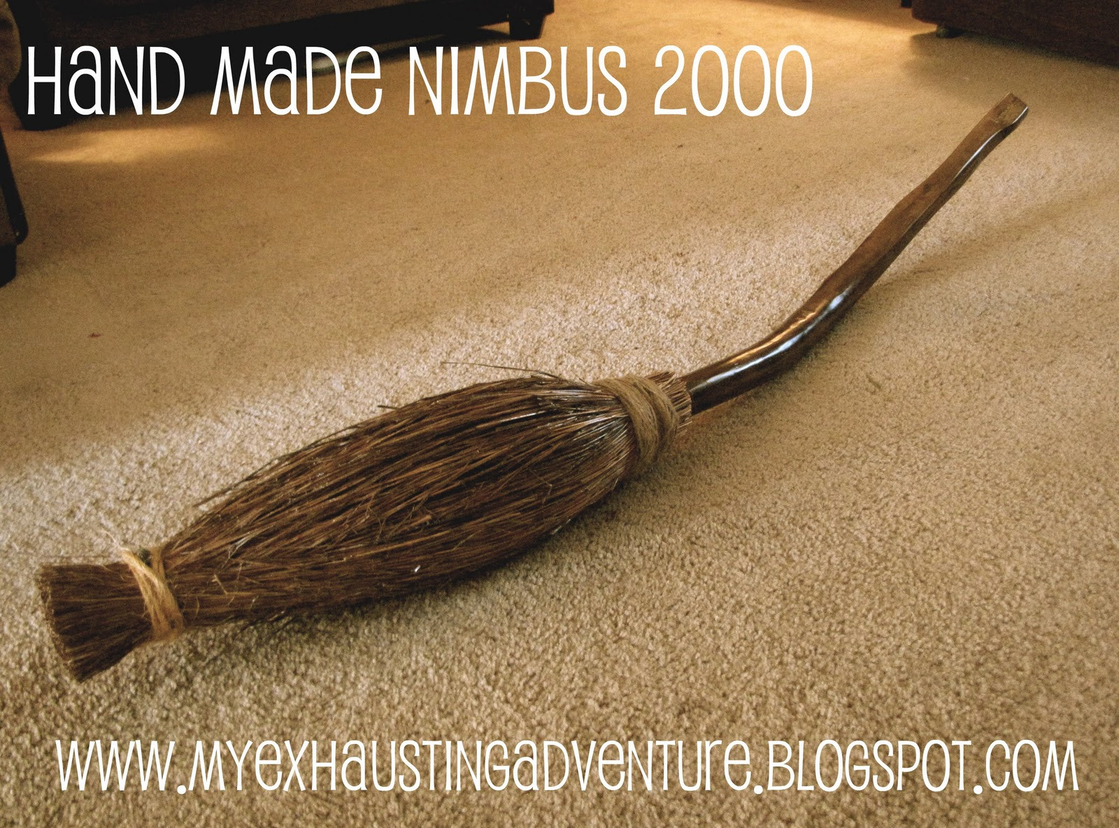 Best ideas about DIY Harry Potter Broom . Save or Pin Julie s Exhausting Adventure Home Made Harry Potter Broom Now.