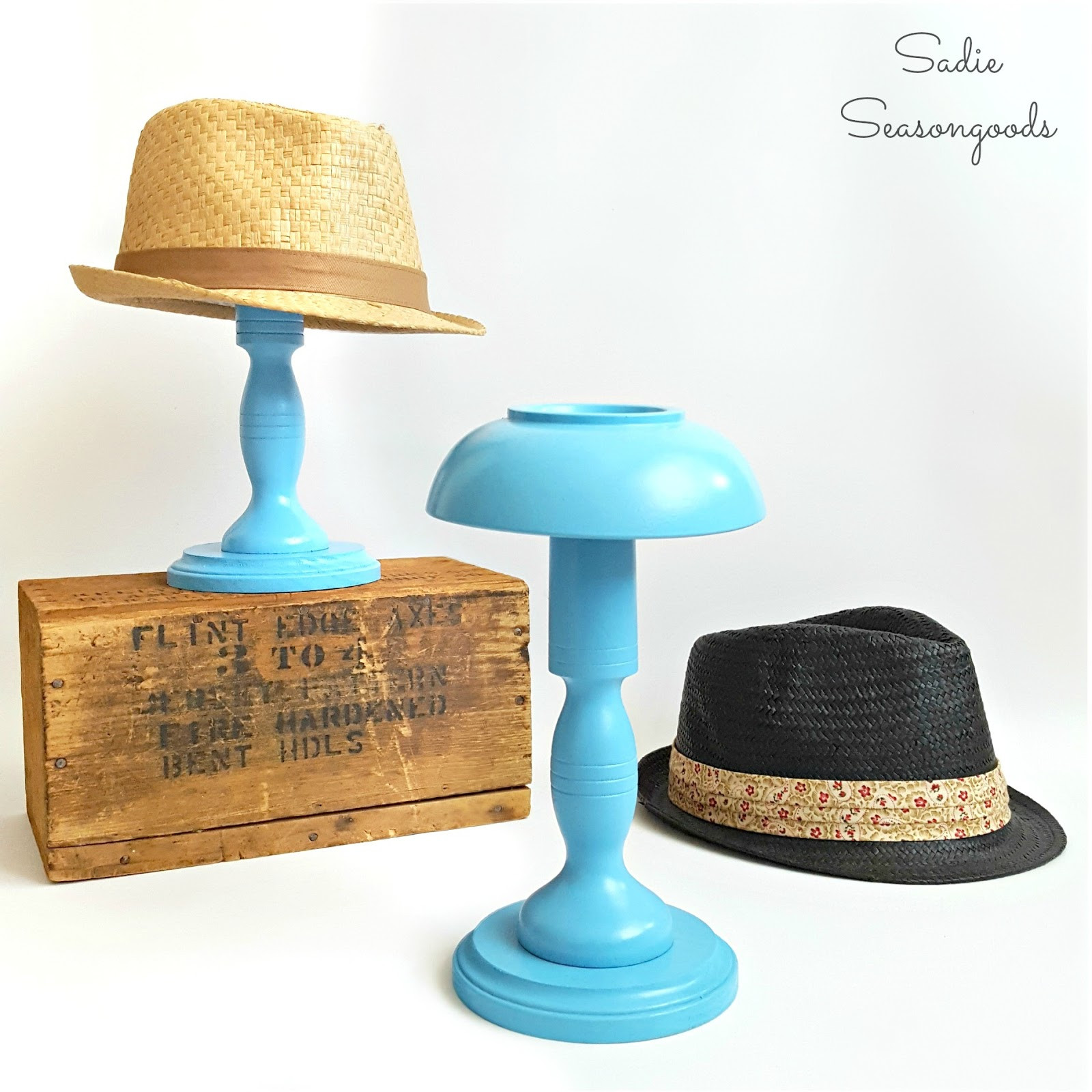 Best ideas about DIY Hat Stand . Save or Pin Homemade and Handcrafted No 37 Now.