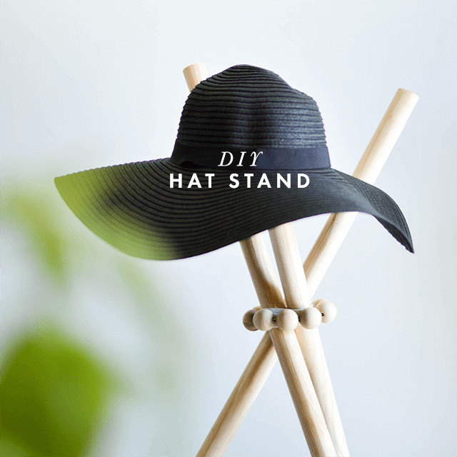 Best ideas about DIY Hat Stand . Save or Pin DIY Hat Stand Now.