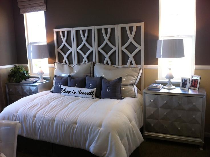 Best ideas about DIY Headboard Ideas For King Beds . Save or Pin 17 Best ideas about No Headboard on Pinterest Now.