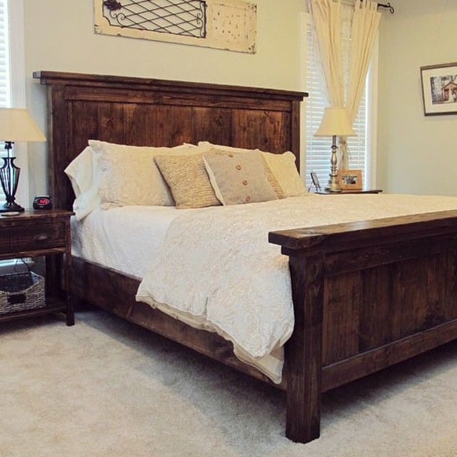 Best ideas about DIY Headboard Ideas For King Beds . Save or Pin Our favorite DIY project to date our handmade king bed Now.