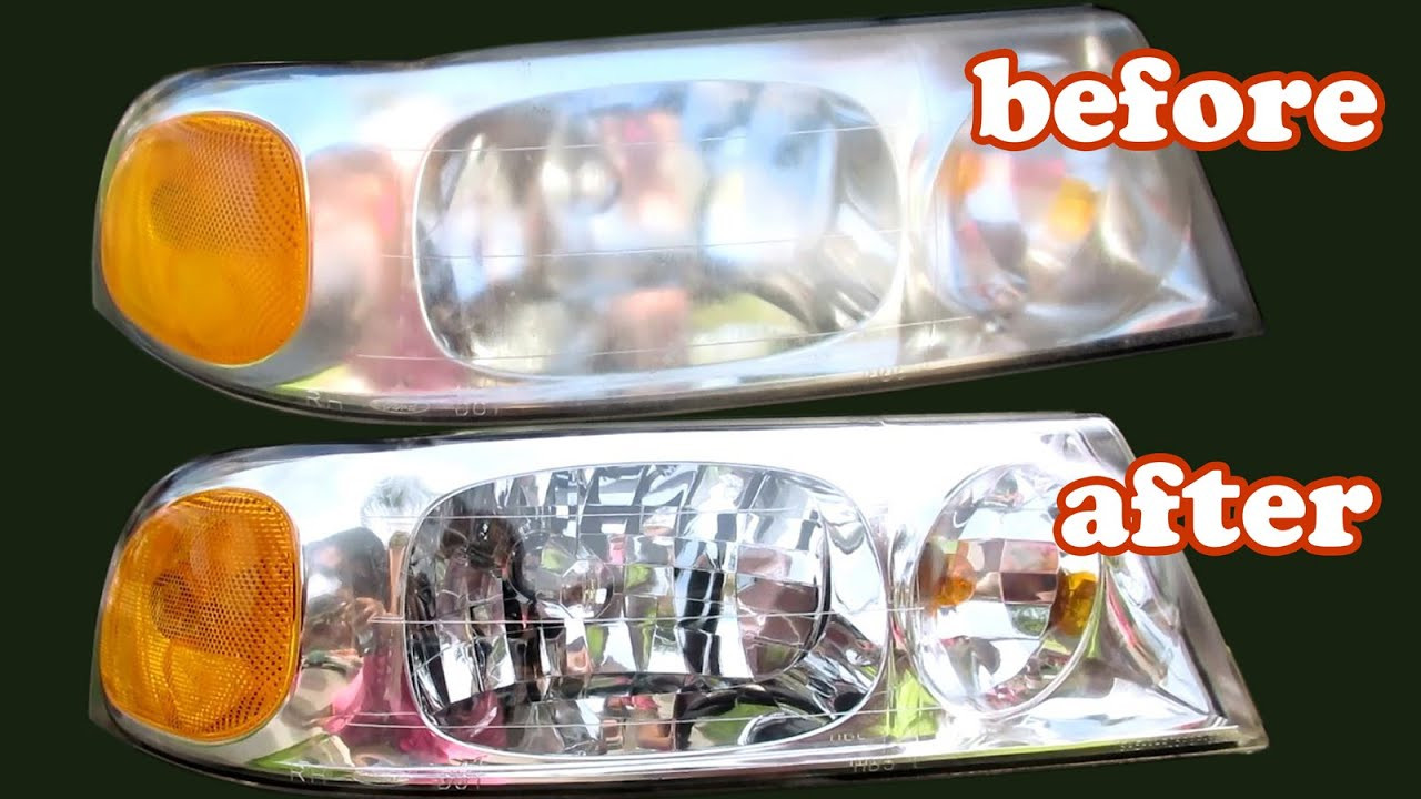Best ideas about DIY Headlight Cleaner . Save or Pin How To Clean Headlights Foggy 3M Headlight Restoration Now.