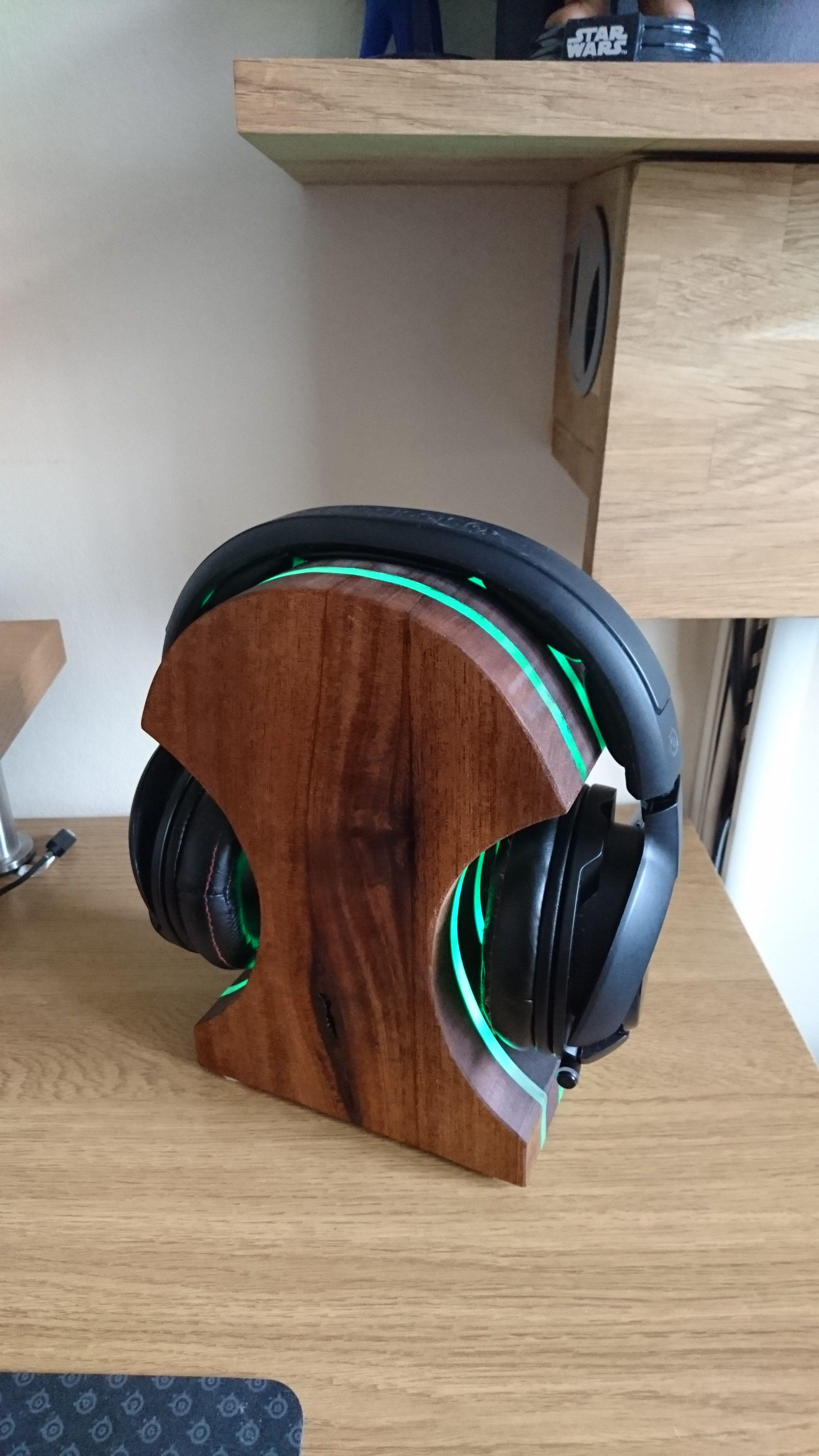 Best ideas about DIY Headphone Stand . Save or Pin 50 Best DIY Headphone Stand Ideas Now.