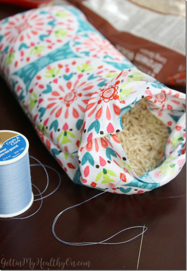Best ideas about DIY Heating Pad . Save or Pin DIY Rice Heating Pad Now.