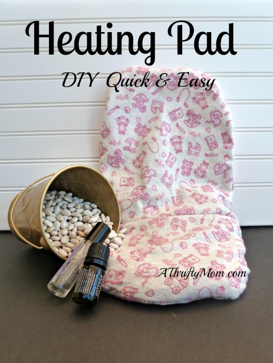 Best ideas about DIY Heating Pad . Save or Pin How to Make An Aromatherapy Heating Pad DIY quick and Now.