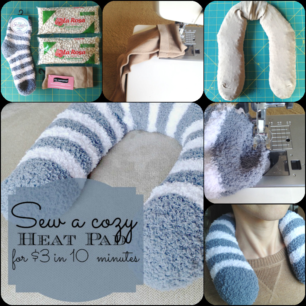 Best ideas about DIY Heating Pad . Save or Pin DIY $3 Heating Pad Stress Now.