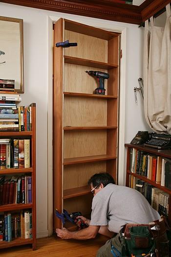 Best ideas about DIY Hidden Door . Save or Pin DIY Hidden Door Book Shelf Now.