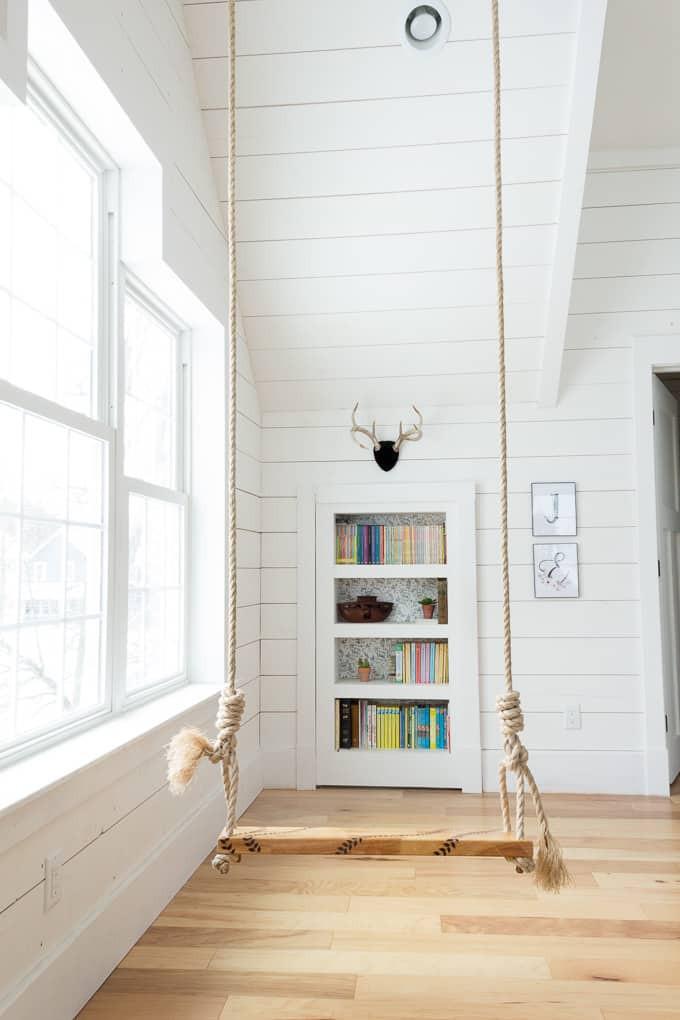 Best ideas about DIY Hidden Door . Save or Pin DIY Hidden Doorway Bookcase Bright Green Door Now.