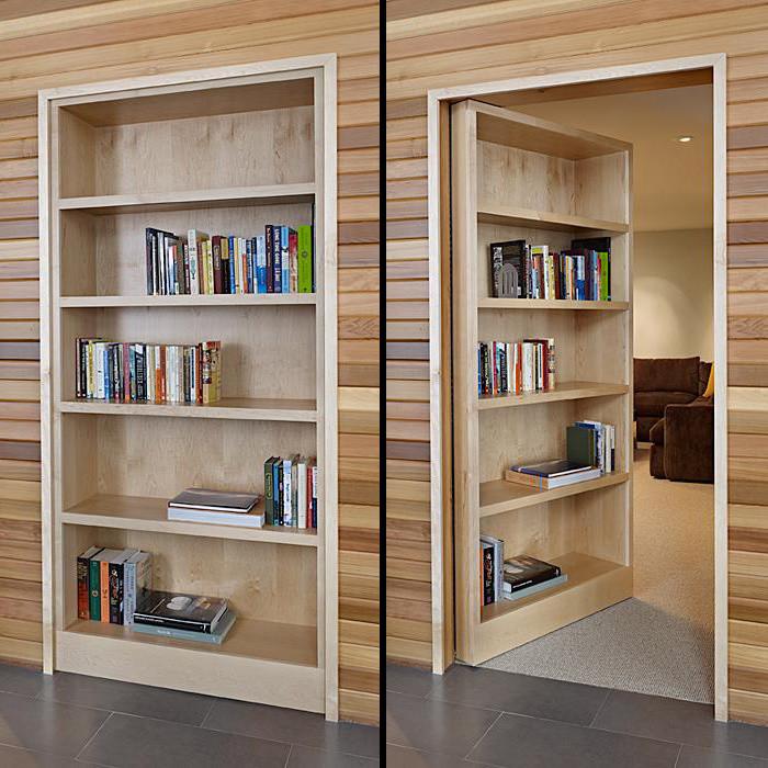 Best ideas about DIY Hidden Door . Save or Pin DIY Hide A Door Bookshelf Wooden PDF playhouse plans Now.