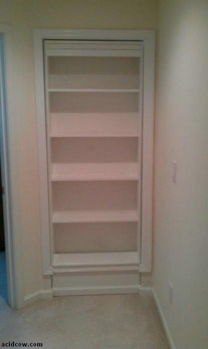 Best ideas about DIY Hidden Door . Save or Pin Hidden Door Bookshelf DIY 16 pics Now.