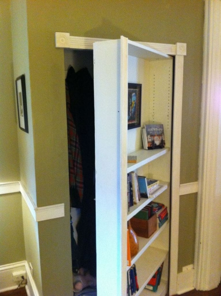 Best ideas about DIY Hidden Door . Save or Pin Door Now.