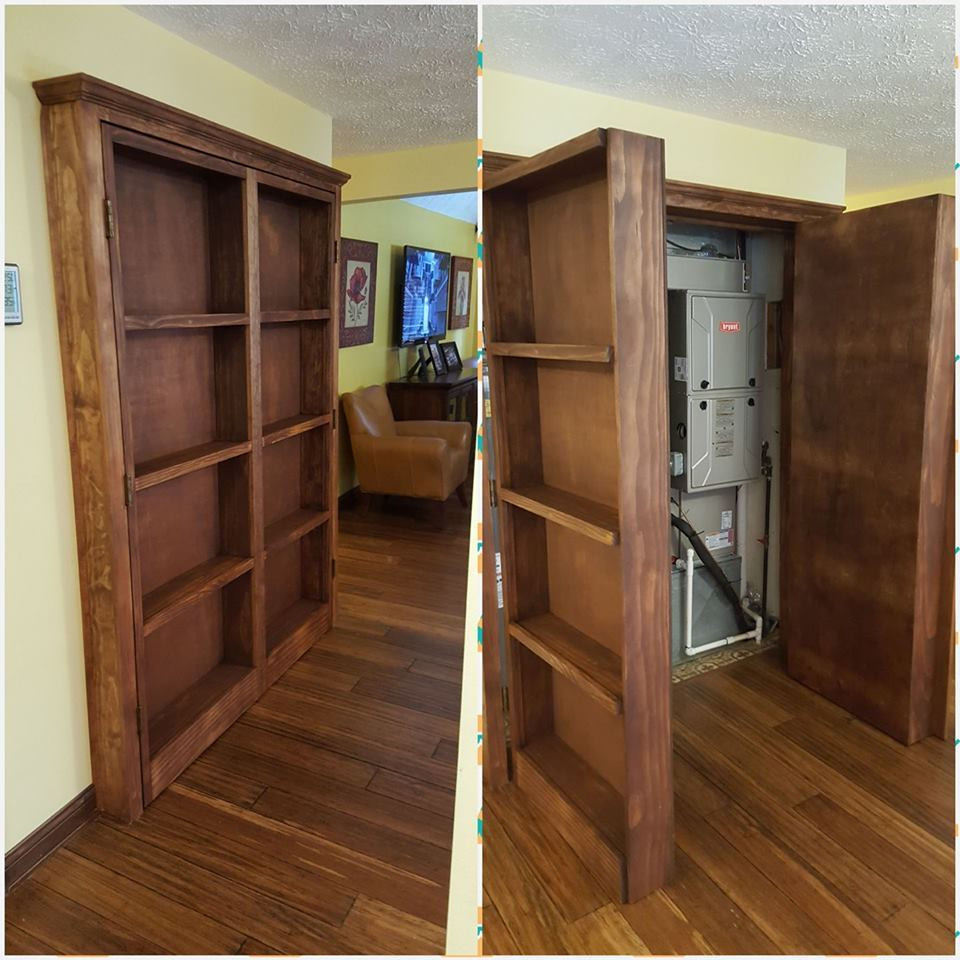 Best ideas about DIY Hidden Door Plans . Save or Pin Ana White Now.