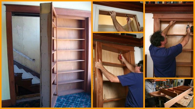 Best ideas about DIY Hidden Door Plans . Save or Pin 40 Easy DIY Bookshelf Plans Now.