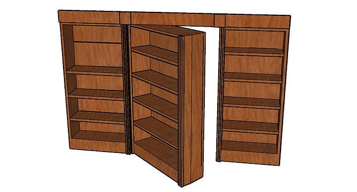 Best ideas about DIY Hidden Door Plans . Save or Pin PDF Bookcase Door Plans Wooden Plans How to and DIY Guide Now.