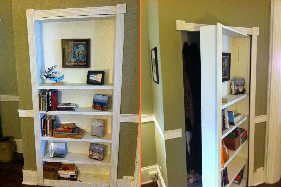 Best ideas about DIY Hidden Door Plans . Save or Pin DIY Bookcase Secret Door Now.
