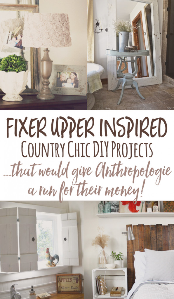 Best ideas about DIY Home Decor Blogs . Save or Pin Cheap and Chic DIY Country Decor a lá Anthropologie Now.