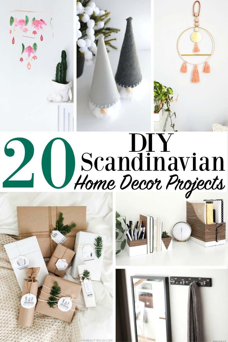 Best ideas about DIY Home Decor Crafts . Save or Pin 20 DIY Scandinavian Home Decor Projects Modern Minimalist Now.