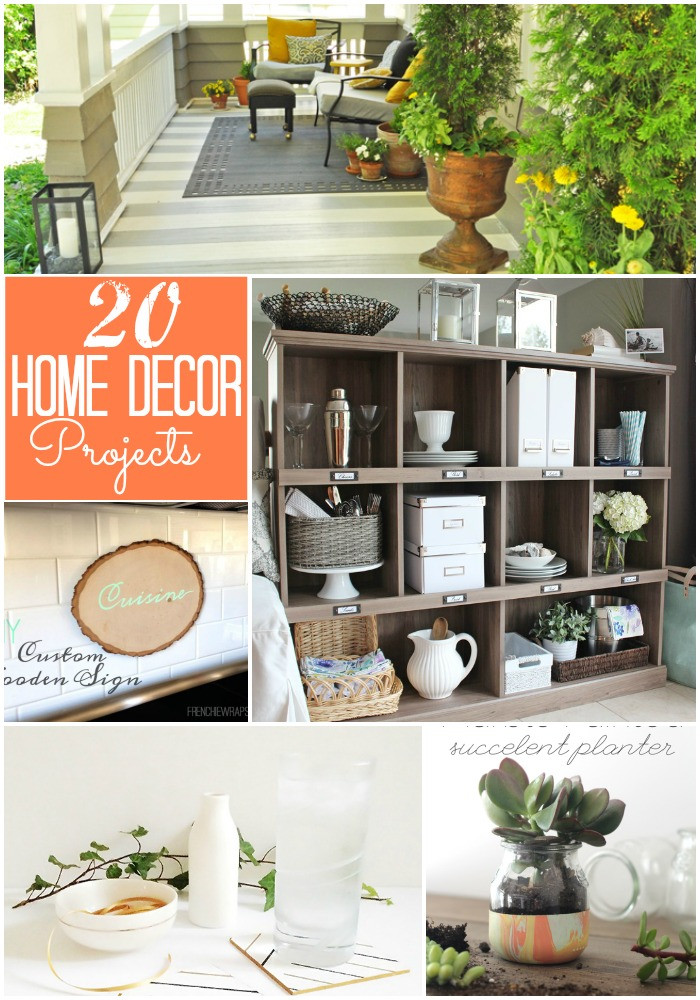 Best ideas about DIY Home Decor Crafts . Save or Pin Great Ideas 20 DIY Home Decor Projects Now.