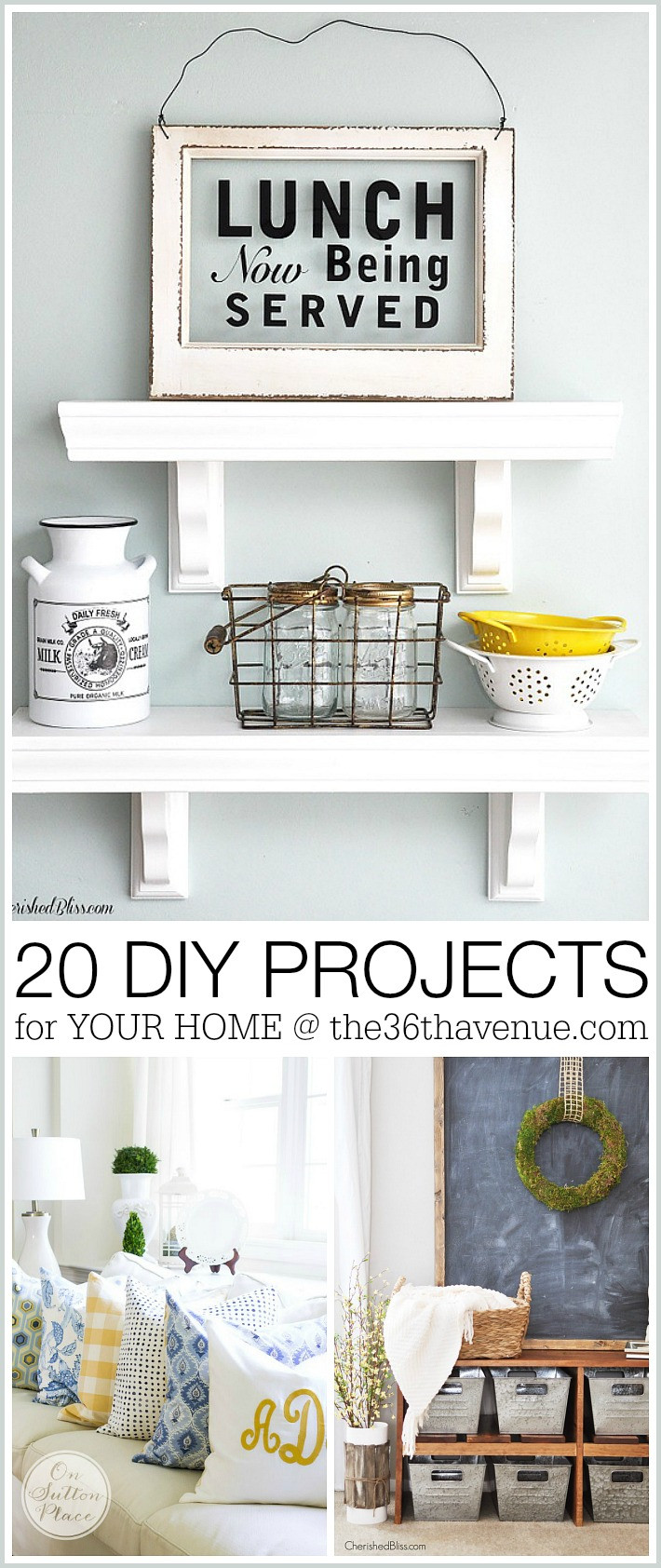 Best ideas about DIY Home Decor Crafts . Save or Pin Home Decor DIY Projects Now.