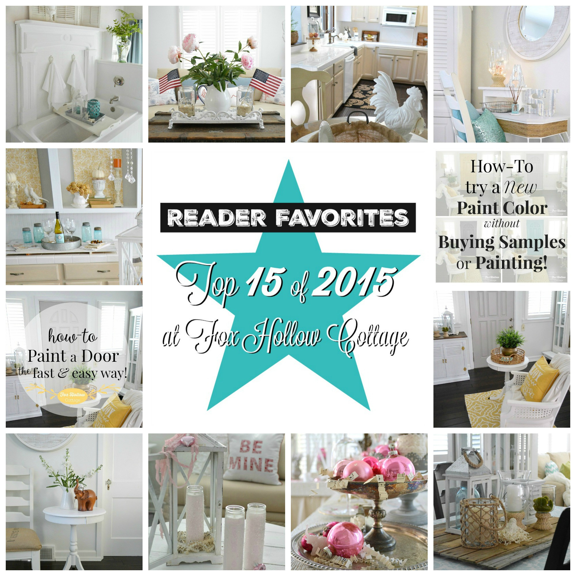 Best ideas about DIY Home Decor Crafts . Save or Pin Top 15 DIY Craft and Home Decorating Projects of 2015 Now.