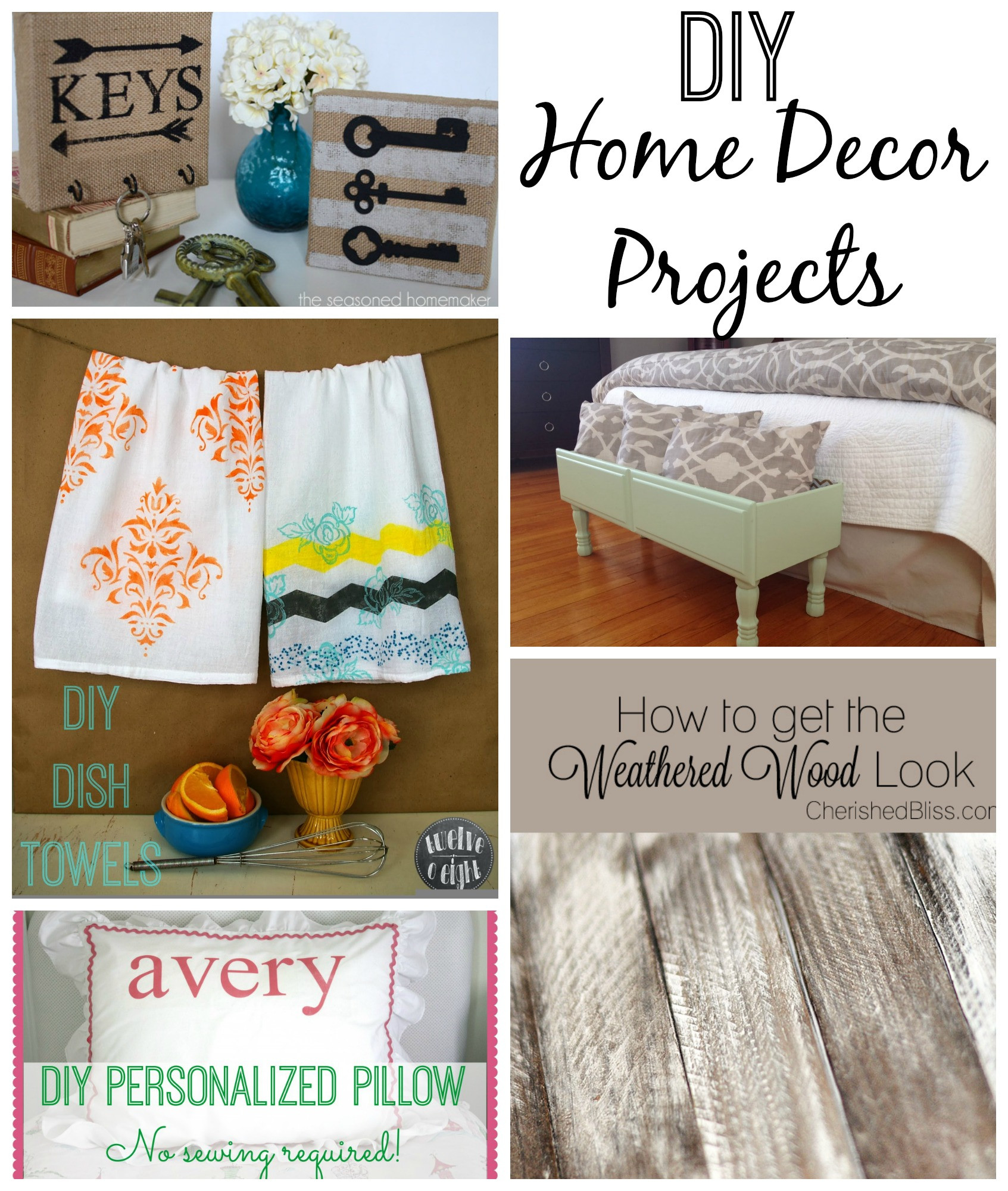 Best ideas about DIY Home Decor Crafts . Save or Pin DIY Home Decor Projects Now.
