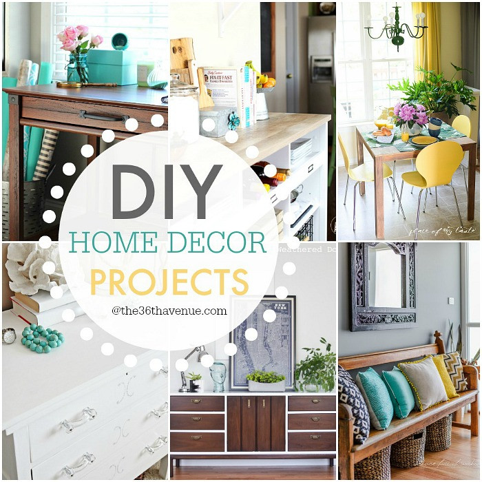 Best ideas about DIY Home Decor Crafts . Save or Pin The 36th AVENUE DIY Home Decor Projects and Ideas Now.