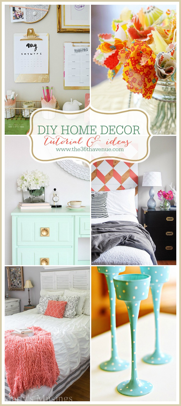 Best ideas about DIY Home Decor Crafts . Save or Pin The 36th AVENUE Home Decor DIY Projects Now.