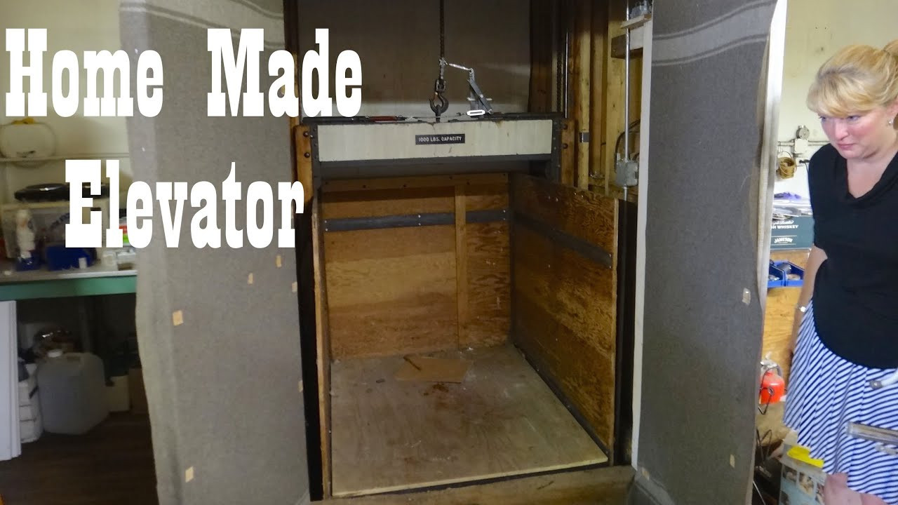 Best ideas about DIY Home Elevators . Save or Pin Antique Home Made Freight Elevator in Hillsville VA Now.