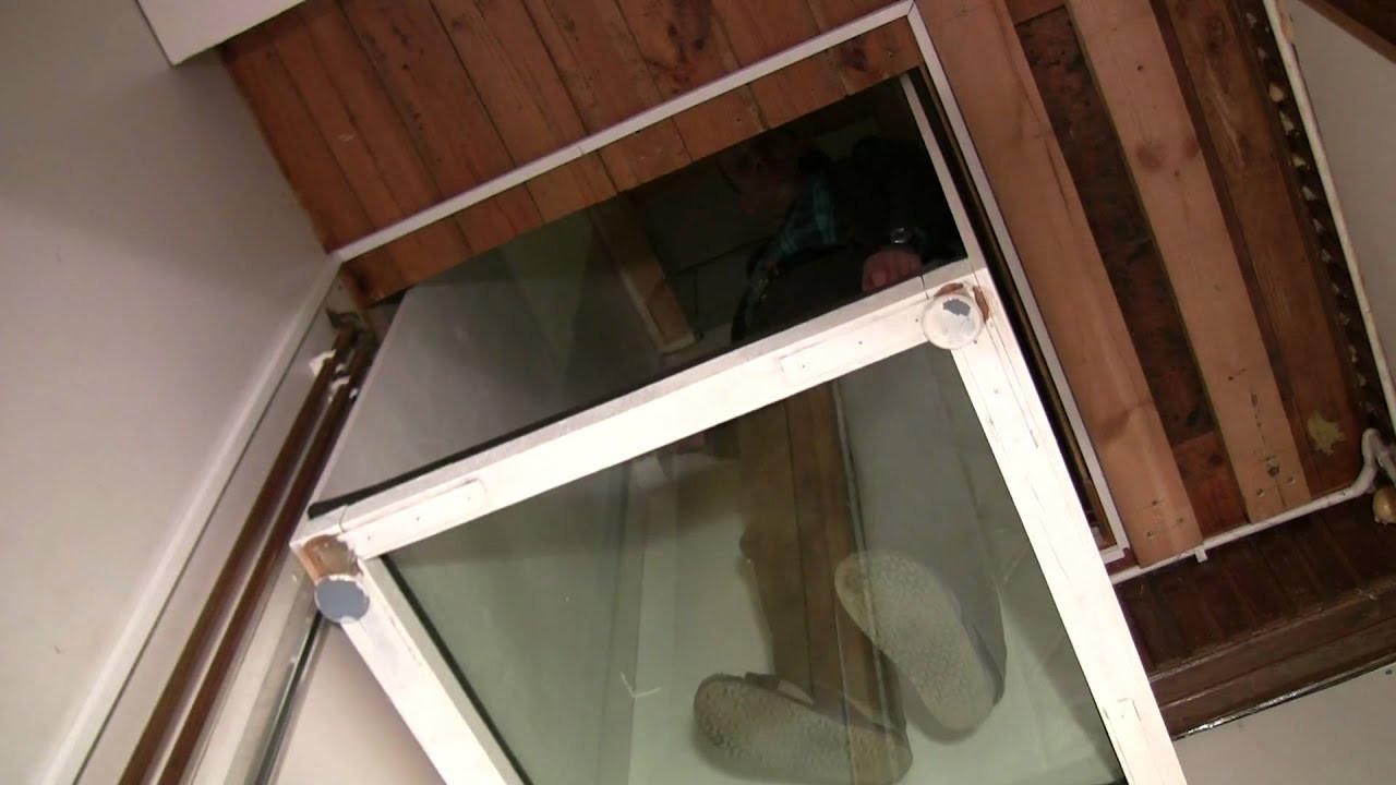Best ideas about DIY Home Elevators . Save or Pin Home made elevator winda domowej roboty ujęcie od dołu Now.