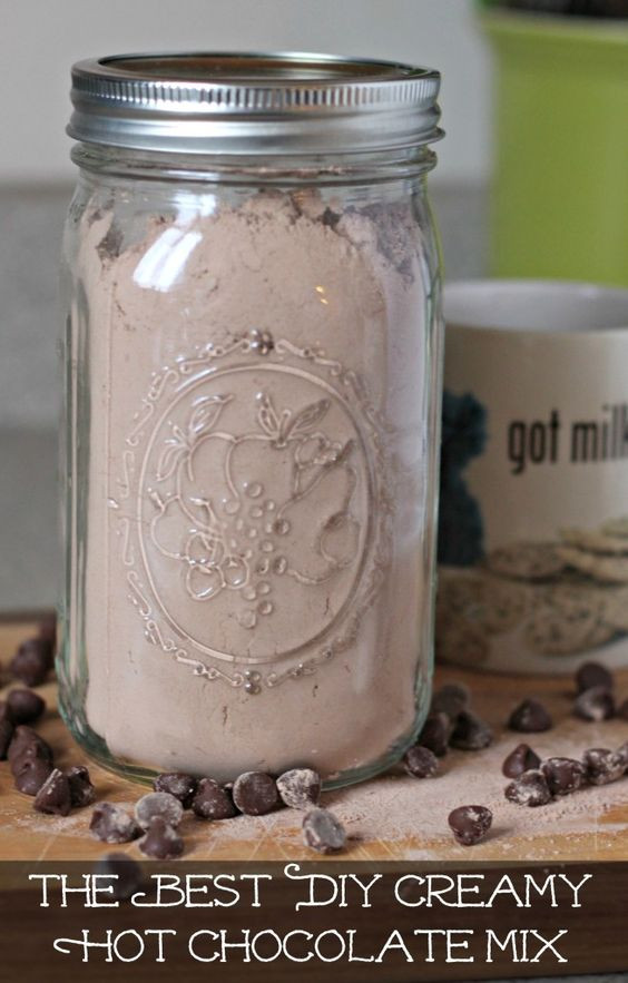 Best ideas about DIY Hot Cocoa Mix . Save or Pin Hot chocolate mix Homemade and Hot cocoa mixes on Pinterest Now.