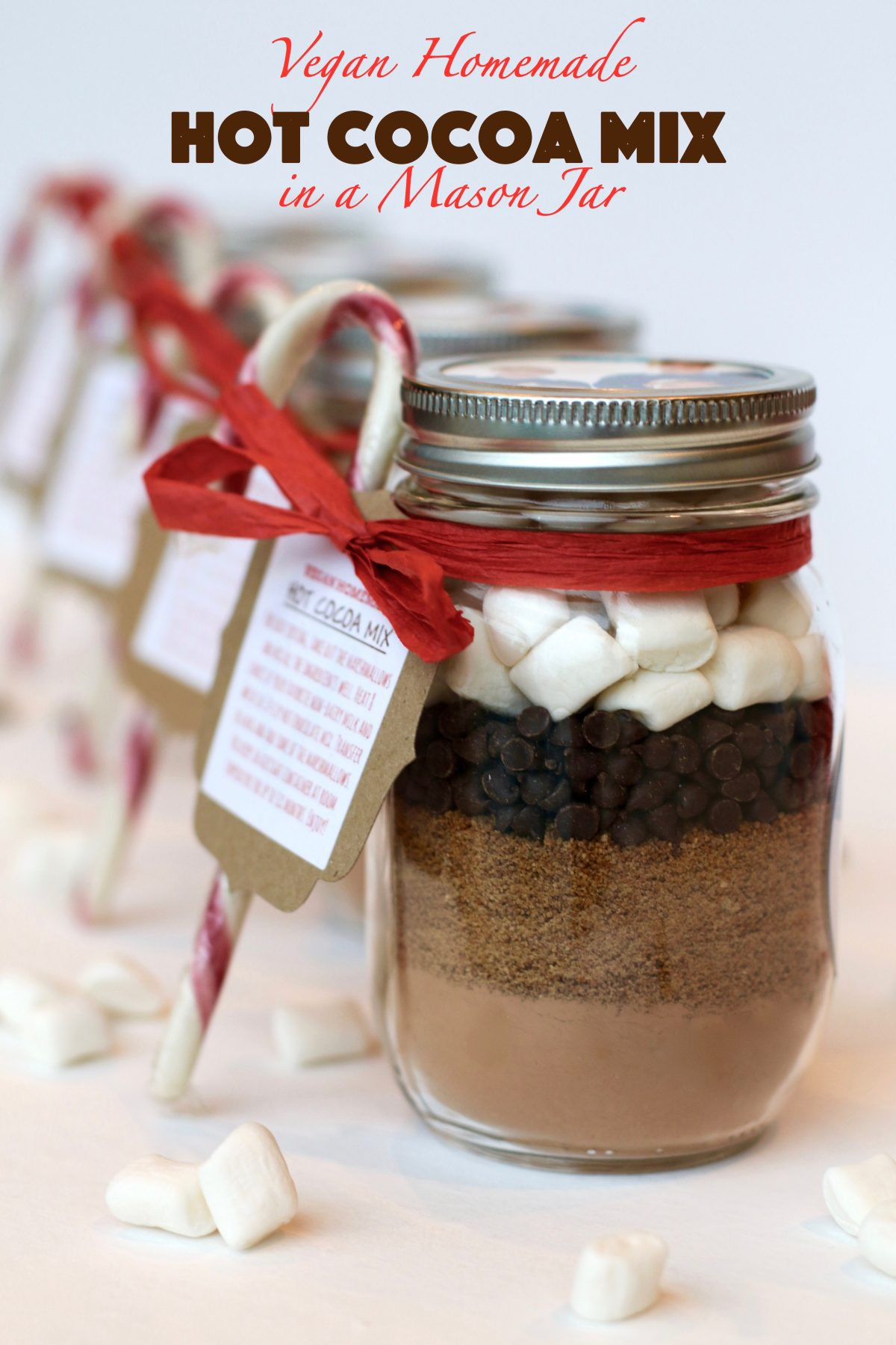 Best ideas about DIY Hot Cocoa Mix . Save or Pin Vegan Homemade Hot Cocoa Mix in a Mason Jar – RunCookLaugh Now.