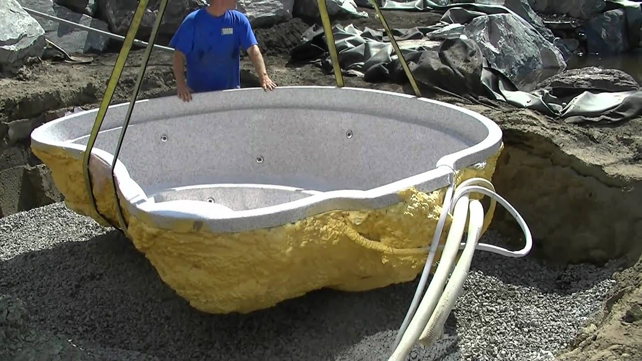 Best ideas about DIY Hot Tub Kit . Save or Pin Installing Mineral Spa Hot Tub Now.