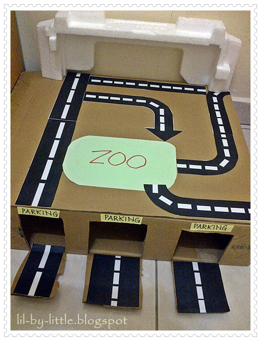 Best ideas about DIY Hot Wheels Track . Save or Pin Lil By Little Our DIY Hot Wheels Track Now.