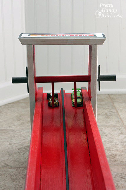 Best ideas about DIY Hot Wheels Track . Save or Pin DIY Wooden Hot Wheels Car Racing Ramp Pretty Handy Girl Now.