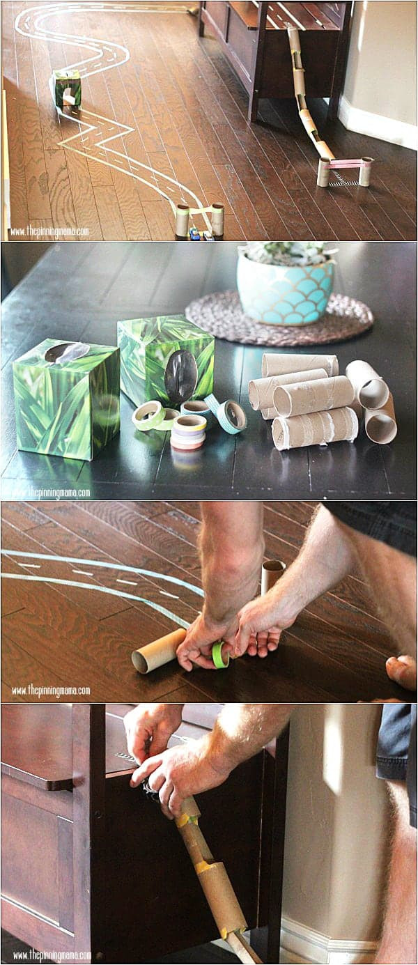 Best ideas about DIY Hot Wheels Track . Save or Pin DIY Toy Car Race Track Creative Play Learn to Recycle Now.