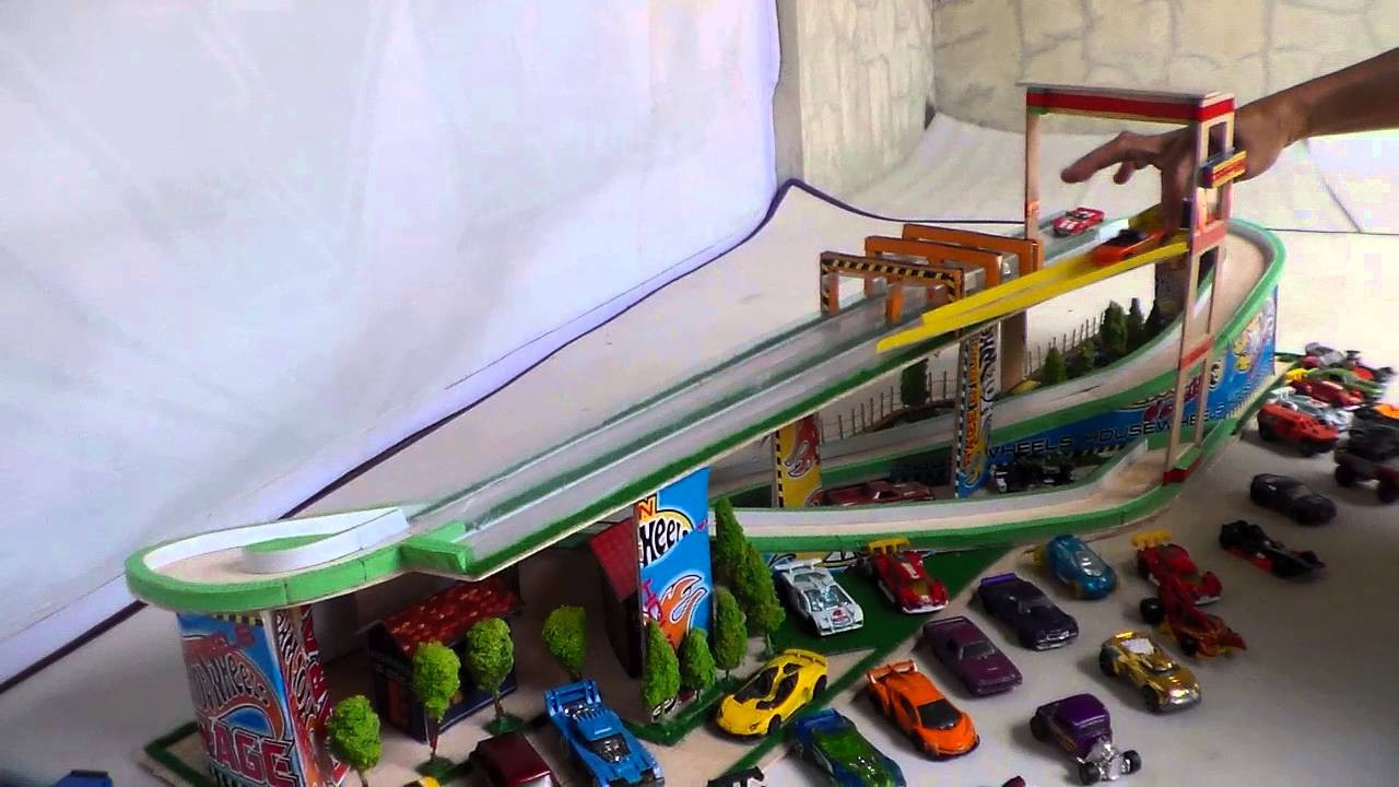 Best ideas about DIY Hot Wheels Track . Save or Pin Hot Wheels Garage Power Lift DIY Now.