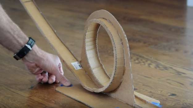 Best ideas about DIY Hot Wheels Track . Save or Pin How to Build A Hot Wheels Race Track DIY Projects Craft Now.