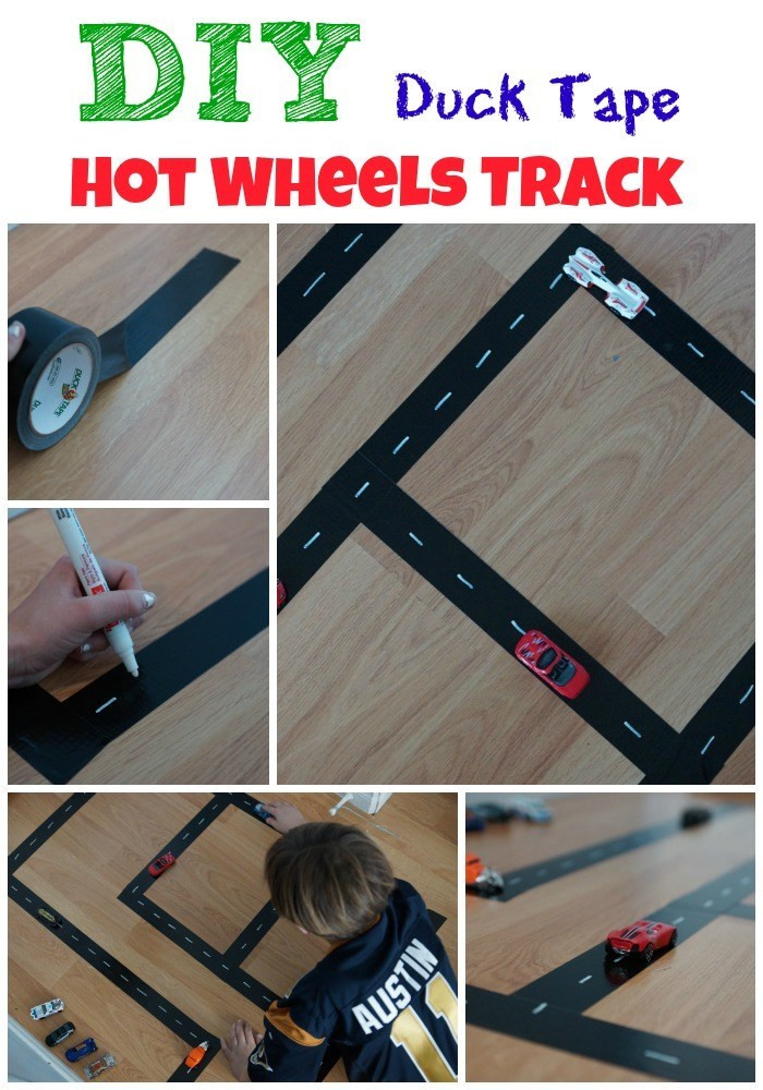 Best ideas about DIY Hot Wheels Track . Save or Pin DIY Duck Tape Hot Wheels Track Now.