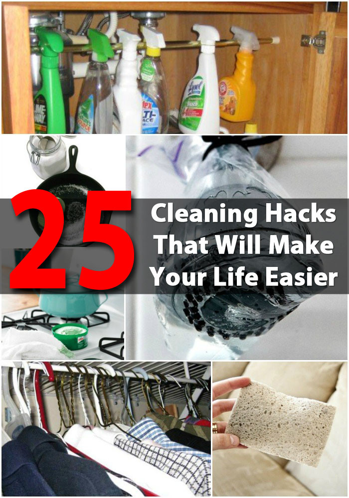 Best ideas about DIY House Cleaning . Save or Pin 25 Cleaning Hacks That Will Make Your Life Easier DIY Now.